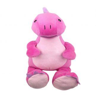 personalised embroidery cubbie teddy bear baby kids keepsake toy pink girl dinosaur