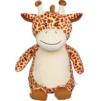 personalised embroidery cubbie teddy bear baby kids keepsake toy giraffe