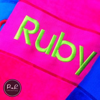 Personalised Embroidered Towels