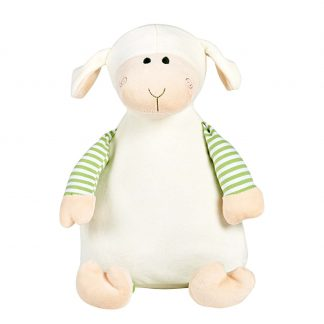 personalised embroidery cubbie teddy bear baby kids toy stripy lamb sheep